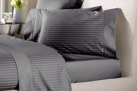 1200tc millennia charcoal sheets by sheridan just bedding