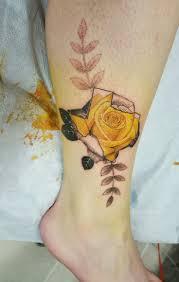 yellow heart tattoo danielhuscroft com