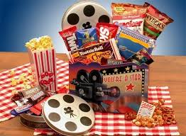 Junk Food Gift Baskets 11 Best Movie Night Gift Baskets Images On Pinterest Gifts