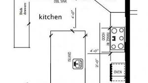Kitchen Design Plans Ideas Marvelous Small Kitchen Floor Plans L Shaped Layout Dimensions On