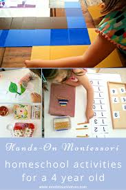 Montessori Bookshelves by Hands On Montessori Homeschool Activities For A 4 Year Old