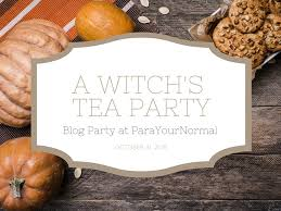 Halloween Poems About Witches Witch U0027s Tea Blog Party Parayournormal