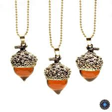 necklace with drop pendant images Acorn water drop pendant necklace project yourself jpg