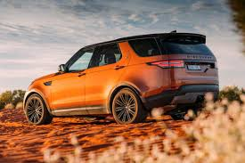 orange range rover sport land rover discovery hse luxury 2017 review snapshot carsguide