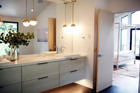 scandi in seattle a midcentury makeover with lots of affordable master bath with marble counters in a remodeled ralph anderson 1966 home in bellevue washington