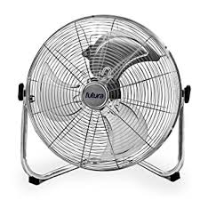 20 high velocity floor fan high velocity floor fan large 20 inch 50cm 110w max power chrome fan