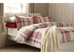 Red Duvet Set Boston Check Red Duvet Cover Sets