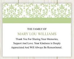 funeral thank you cards thank you card simple thank you cards for sympathy how to send