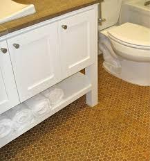 gorgeous bathroom flooring cork simple bathroom ideas with cork