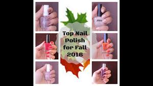 my favorite nail polishes for fall autumn winter 2016 swatches