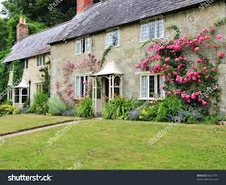 traditional english cottage garden stock photo 66617551 shutterstock