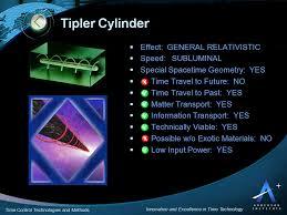 tipler cylinder time travel