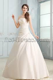 fabulous strapless a line satin corset wedding dress 1st dress com