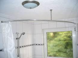 Oval Shower Curtain Rail Australia Shower Curtain Rod For Quadrant Shower Tubs With Aluminium Profile