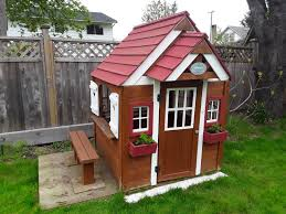 find more backyard discovery cedar chateau playhouse for sale at