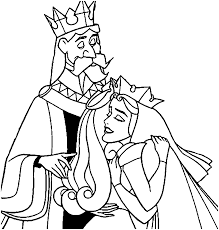 aurora queen leah kings stefan hubert coloring pages
