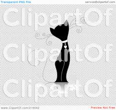 royalty free rf clipart illustration of an ornate black and
