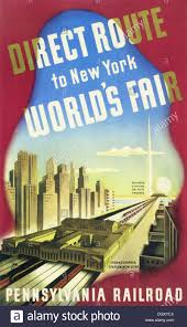 Pennsylvania how to travel for free images New york world 39 s fair a vintage travel poster by pennsylvania jpg