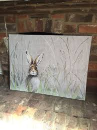 large next rabbit hare canvas print in luton bedfordshire