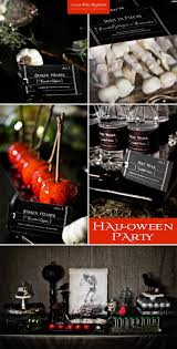 halloween party gothic wedding printable decorations