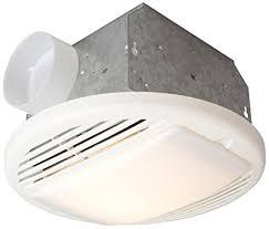 bathroom exhaust fan 50 cfm craftmade tfv50l 50 cfm bathroom exhaust fan light white amazon com