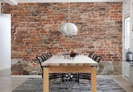 brick wallpaper lowes paneling menards faux stone fireplace panels