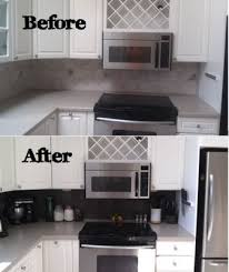 diy kitchen backsplash on a budget kitchen backsplash rev using peel and stick vinyl tiles