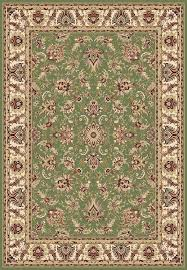 Green Area Rug Concord Global Trading Williams 7575 Ararat Green Area Rug