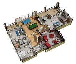 Floor Plan To 3d 3d Marketing Floor Plans Architectural Visualization Key Vision