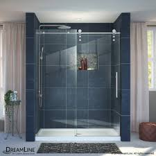 48 Shower Doors Dreamline Enigma Z 44 To 48 In Fully Frameless Sliding Shower