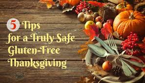5 tips for a gluten free thanksgiving or another meal