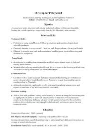 Resume Skills Summary Examples Sample Of Key Skills In Resume Resume Summary Example 8 Samples In