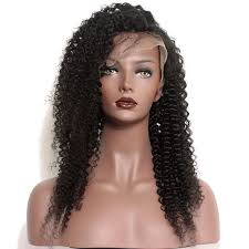 mongolian hair virgin hair afro kinky human hair weave natural color kinky curly full lace wigs unprocessed brazilian