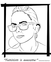 coloring pictures of books a badass feminist coloring book for the powerful ladies in your
