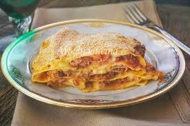 cuisine lasagne facile lasagna facile e veloce prosciutto e carne arte in cucina