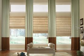 Roman Shades Styles - woven wood shades