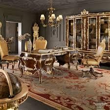 wooden desk classic villa venezia modenese gastone luxury