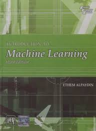 introduction to machine learning 3rd edition ethem alpaydin