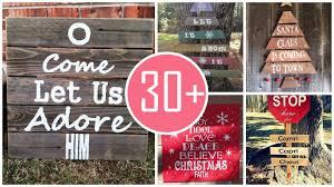 christmas signs creative wooden christmas signs for outdoors cosy top 40