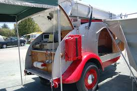 the teardrop trailer named for its shape of course this one u0027s