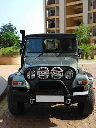 mahindra thar modified seating fibre smith