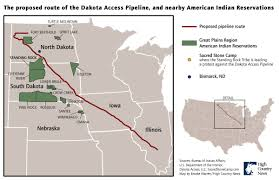 Map Of Nebraska Cities Photos Of The North Dakota Pipeline Protest U2014 High Country News