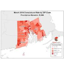 Warwick Ri Zip Code Map by Foreclosure Delinquency Rates Drop In Metro Area For March