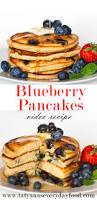 blueberry pancake recipe fluffy blueberry pancakes tatyanas everyday food