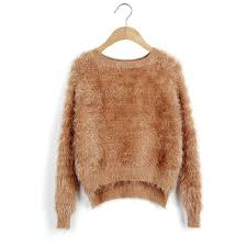 baggy sweaters sweater 2015 fashion knitted mohair asymmetrical