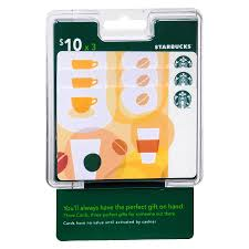 starbuck gift cards starbucks 3 pack 10 gift cards walgreens