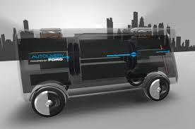 concept ford truck ford wants to launch drones from self driving vans to deliver all