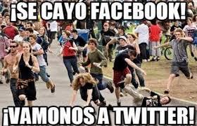Memes De Internet - ca祗da s禳bita de facebook e instagram a escala mundial desata memes