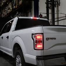 2016 f150 led tail lights 2015 2016 ford f150 led smoked 3rd brake light