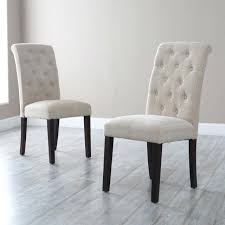 Chairs And Design Ideas White Tufted Dining Chairs Chair Design Ideas White Fabric Dining